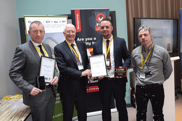 Geoff with CCATF Employer of the Year 2016 Winner – AJ Dodd Construction
