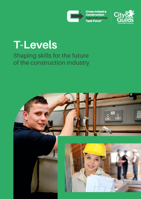 Industry First: CCATF collaborates with City & Guilds to raise awareness of T Levels